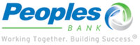 Peoples Bank logo.