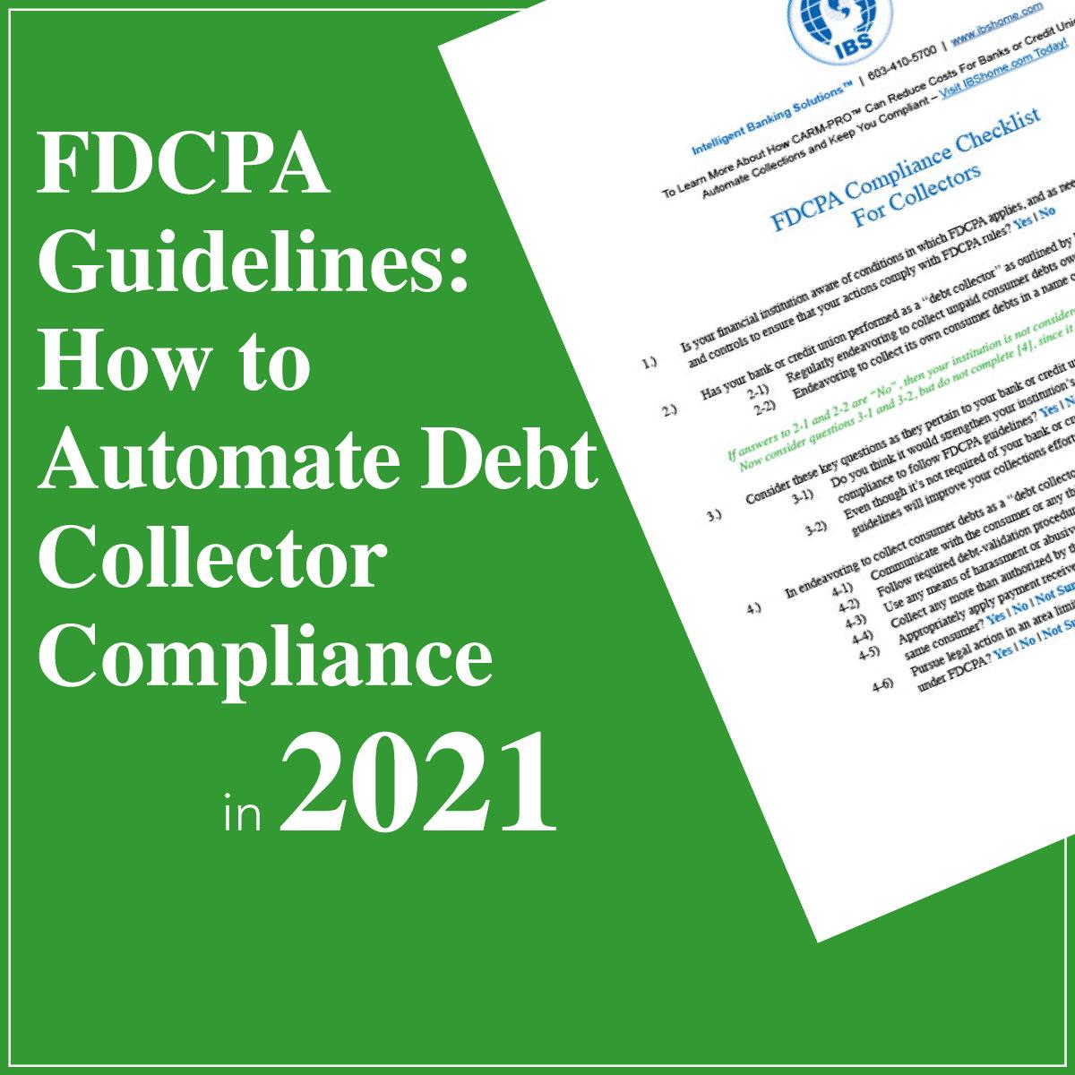 FDCPA Compliance Checklist Article Image